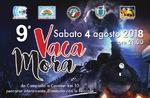 Vaca Mora 2018-9. Nacht März auf der Straße der alten Seilbahn in Treschè Cesuna Canove di Roana