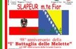 98º Anniversario della Iª Battaglia delle Melette, a Foza il 7 giugno 2014