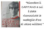 "Ausstellung ""Eugenio Niccolai, Held der Sassari Brigade"" am August 11 bis 31 2018 Conco-aus"