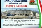 Inaugurazione del restauro del Forte Lisser - 25 giugno 2017