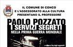 Tagung vom Geheimdienst im ersten Weltkrieg von Prof. p. Pozzato, Conco, 28. Dezember 2016