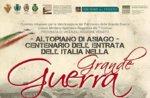 Fackelzug am Monte Verena, Centenary Eintrag im großen Krieg Italien-Asiago