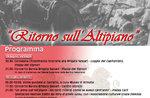 Rückkehr der Hochebene, der große Krieg und Erinnerung an den Infanteristen der Sassari Brigade