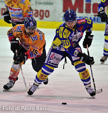 Asiago Hockey in azione