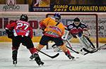 Hockey ghiaccio: Asiago Hockey vs Rittner Buam, AHL 2016-2017, 4 gennaio 2017