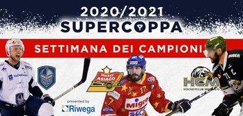 Doppia supercoppa Asiago Hockey 2020