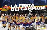 Champions-Festival-wir feiern den Sieg von Asiago Asiago Hockey-21 April 2018