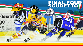 Final Four hockey ad Asiago