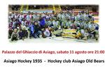 Giornata della Solidarietà con partita di Hockey per la Vita ad Asiago - 11 agosto 2018