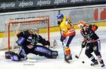 Partita Migross Supermercati Asiago Hockey vs Ritten Sport Hockey AS GmbH - AHL 2017-2018 - 30 settembre 2017
