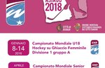 2018 World Championships Senior Frauen Eishockey IIHF in Asiago-8.-14. April 2018