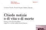"""Presentazione libro """"Chiedo notizie o di vita o di morte"""" a Sasso di Asiago"""