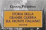 Donnerstag um Cesuna Kultur, des großen Krieges von Gianni Pantoja