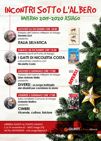 CONSINS WITH THE ALBERO 2019-2020 - Literary review by the Library At the Point of Asiago