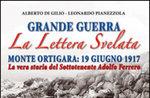 """Presentazione del libro """"La lettera svelata"""" al Forte Corbin, Treschè Conca - 15 luglio 2017"""