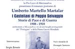 """Presentazione romanzo """"I Castellani di Poggio Selvaggio"""" a Mezzaselva, Altopiano"""