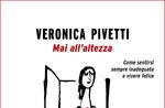 """Veronica Pivetti präsentiert sein Buch """"Nie messen sich"""" Asiago-August 9, 2017"""