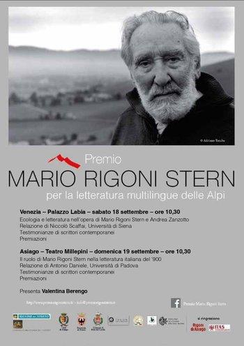 Premio Mario Rigoni Stern 2021