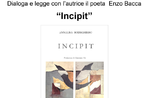 """Präsentation von Annalisa Rodeghieros Gedichtband """"INCIPIT"""" in Asiago - 31. Juli 2019"""