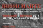 """Präsentation des Buches """"Red Mars"""" und Treffen der Autor Giovanni Caprara, Asiago, 4. Januar 2017"""