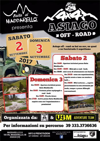 4x4 Asiago Off Road