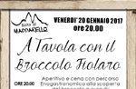 Ein Tavola con il gedeihendes Fiolaro in Asiago, 20. Januar 2017 (Qvb) 2.0