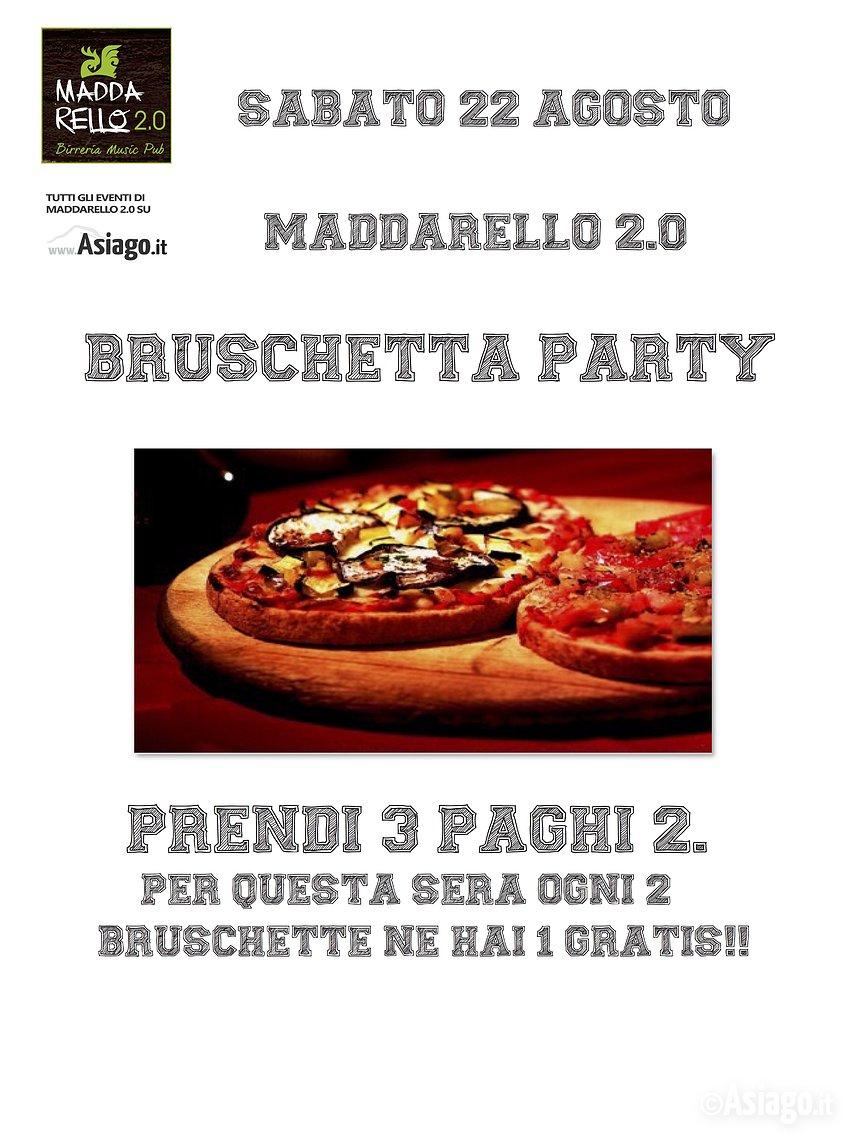 Bruschetta party ad asiago sabato 22 agosto 2015 for Baite ad asiago
