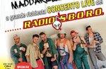 ABENDESSEN UND LIVE-KONZERT VON RADIO S.B.O.R.O. IN ASIAGO