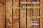 DAVIDE POMPONIO live ad Asiago. Sabato 8 Agosto 2015