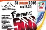 Raduno FIAT 500 ad Asiago Domenica 31 Luglio 2016