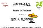 Cena Messicana ad Asiago Sabato 20 Febbraio 2016
