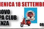 Raduno del Vespa Club e Notte Latina ad Asiago Domenica 18 Settembre 2016