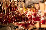 Weihnachtsmarkt in der Altstadt in Lusiana, Samstag, 20. Dezember 2014