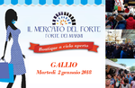 Mercato di Forte dei Marmi a Gallio - 2 gennaio 2018
