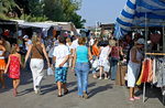 Gemeinsamen Markt am Freitag in Cesuna di Roana, Asiago Hochebene-August 4, 2017
