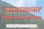Sbancarellarte, einem kleinen See Markt Roana, Altopiano di Asiago