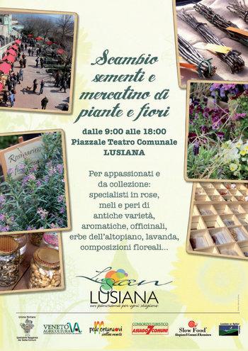 Scambio sementi e mercatino dei fiori a lusiana 3 aprile 2016 for Asiago dove dormire