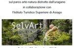 Salviamo SelvArt - Allestimento artistico dello scultore Marco Martalar ad Asiago - 29 dicembre 2018