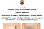 Treffen mit der Journalistin und Redakteurin Stefano Valentini Asiago-10. November 2018