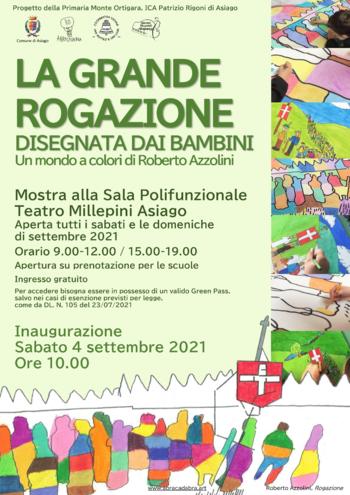 Grande Rogazione Asiago mostra disegni bambini settembre 2021