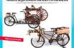 Ansicht der alten funktioniert Radfahren zu Gallium-vom 2. bis 20. August 2017