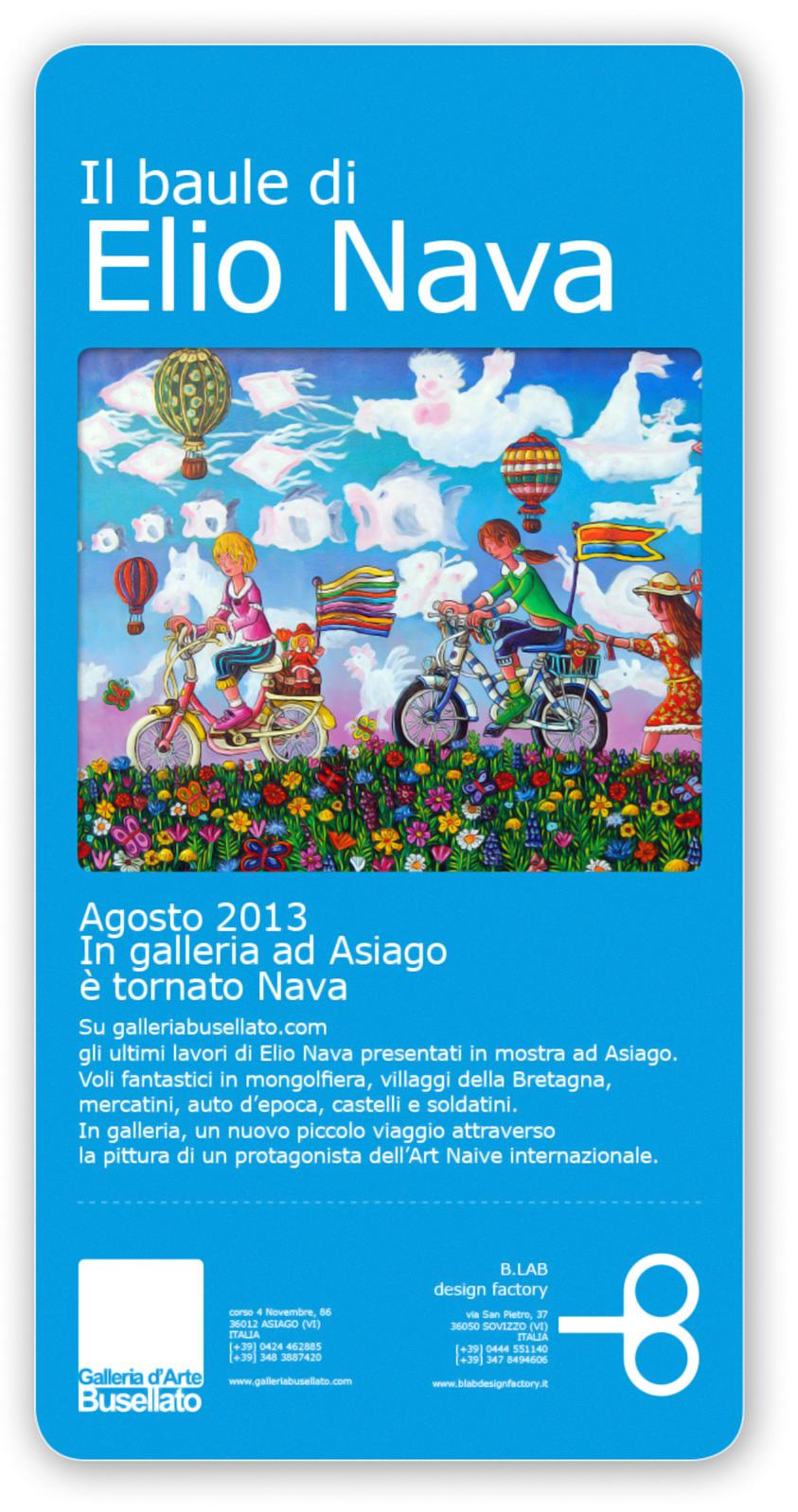 Mostra d 39 arte il baule di elio nava ad asiago dal 7 agosto for B b ad asiago