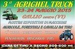 Agrighel LKW, Landmaschinen-Ausstellung-Ausstellung, Gallium, Asiago Hochebene