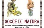 NATURA GOCCE - Einweihung zeigt Aquarelle von Simone Ciocca in Rotzo - 6. Juli 2019