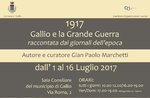 """Mostra """"1917: Gallio e la Grande Guerra raccontata dai giornali dell"""