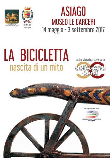LA BICICLETTA, NASCITA DI UN MITO - Mostra a tema al Museo Le Carceri di Asiago