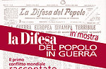 """""""Die Verteidigung der Menschen im Krieg"""", Ausstellung im Canove, Altopiano di Asiago"""