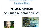 Prima mostra di sculture in legno e dipinti a Canove di Roana, 1-12 agosto 2015