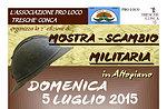 Mostra-Scambio Militaria a Treschè Conca - Grande Guerra in Altopiano di Asiago