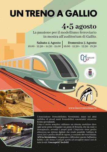 A train in Gallio